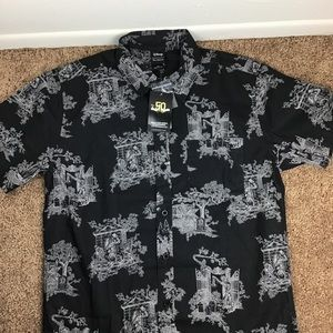 Disney's Haunted Mansion button up